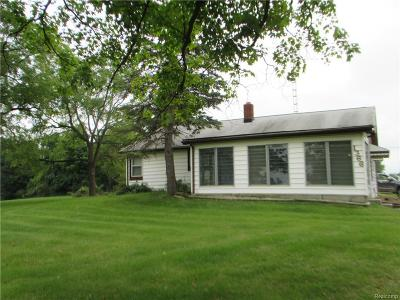 Holly Single Family Home For Sale: 1366 Thompson Road