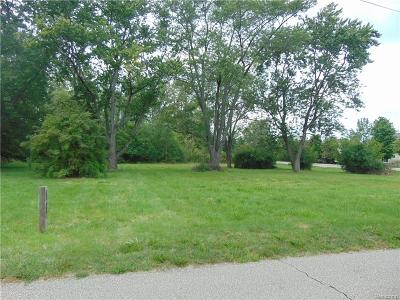 Rochester Hills Residential Lots & Land For Sale: 3644 Crooks Road