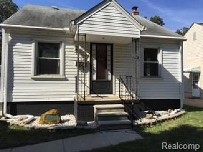 Dearborn Heights Single Family Home For Sale: 4176 Cornell Street