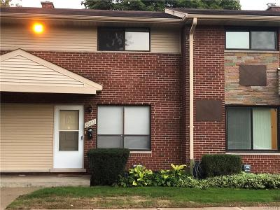 Madison Heights MI Condo/Townhouse For Sale: $99,900