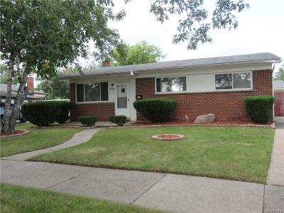 Dearborn Heights Single Family Home For Sale: 27336 Terrell Street