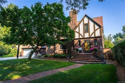 Huntington Woods Single Family Home For Sale: 13316 Ludlow Avenue