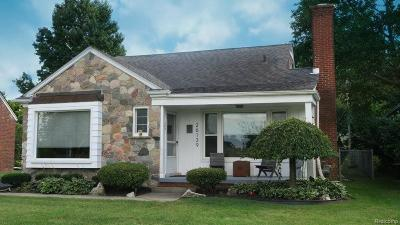 Redford Twp Single Family Home For Sale: 26139 Ross Drive