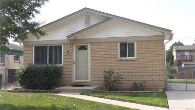 Warren Single Family Home For Sale: 32131 Knapp Avenue