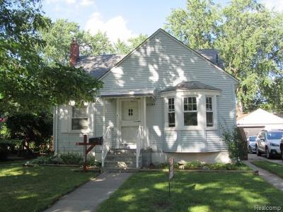 Dearborn MI Single Family Home For Sale: $144,900