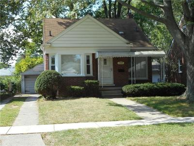 Redford Twp Single Family Home For Sale: 17371 Olympia