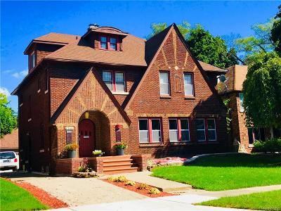 Detroit Single Family Home For Sale: 17166 Parkside Street