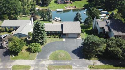 Lake Orion, Orion Twp, Orion Single Family Home For Sale: 1186 Heights Road