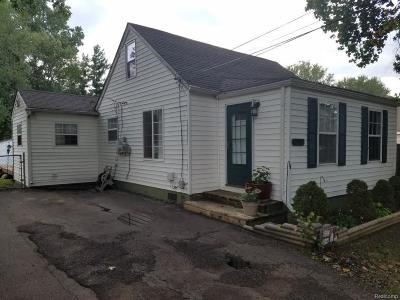 Taylor MI Single Family Home For Sale: $180,000