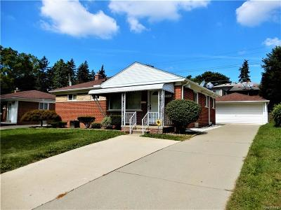 Dearborn Heights Single Family Home For Sale: 21112 Ann Arbor Trail