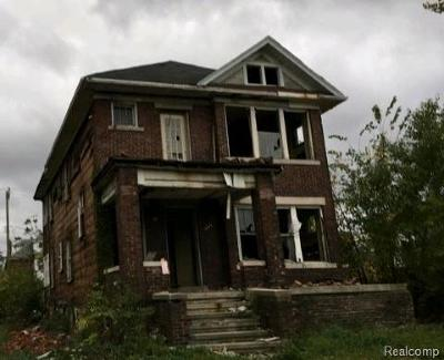 Detroit Multi Family Home For Sale: 1241-1243 Calvert Street