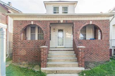 Detroit Single Family Home For Sale: 5861 Tarnow Street