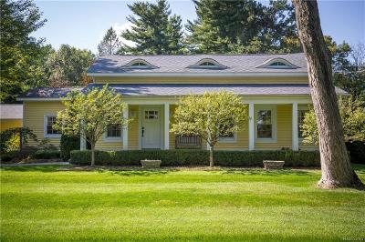 Lake Orion, Orion Twp, Orion Single Family Home For Sale: 80 Joslyn Road