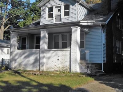 Hazel Park Single Family Home For Sale: 128 W Robert Avenue