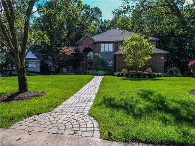 West Bloomfield Twp Single Family Home For Sale: 6347 Wildwood