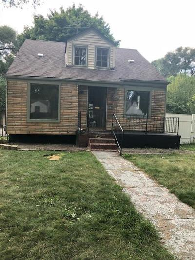 Detroit Single Family Home For Sale: 20011 Anglin Street