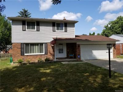 Livonia Single Family Home For Sale: 14193 Hubbell Street