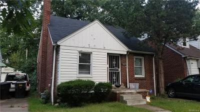 Detroit Single Family Home For Sale: 18836 Shields Street