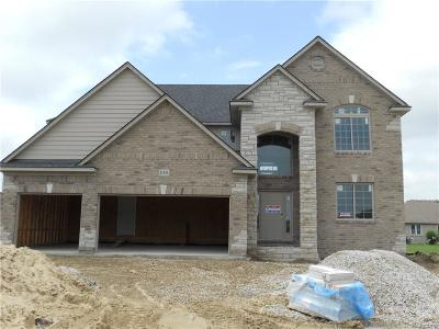 Macomb Twp Single Family Home For Sale: 21535 Fort Worth Court