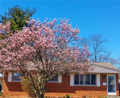 Plymouth Twp Single Family Home For Sale: 11425 Russell Avenue