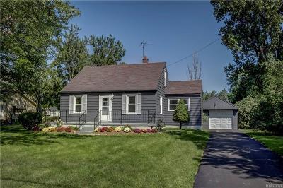 Livonia Single Family Home For Sale: 37750 Grantland Street