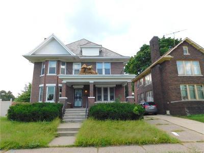 Detroit Multi Family Home For Sale: 951 E Grand Blvd