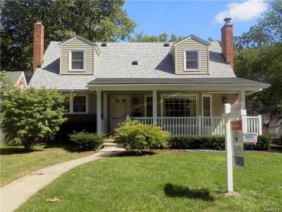 Pleasant Ridge Single Family Home For Sale: 165 Maplefield Road