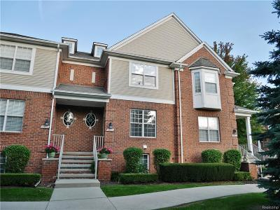 Shelby Twp MI Condo/Townhouse For Sale: $237,500