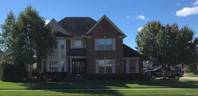 Macomb Twp MI Single Family Home For Sale: $349,900