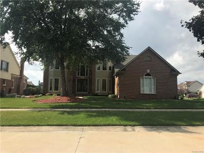 Macomb Twp Single Family Home For Sale: 46793 Springwood Drive