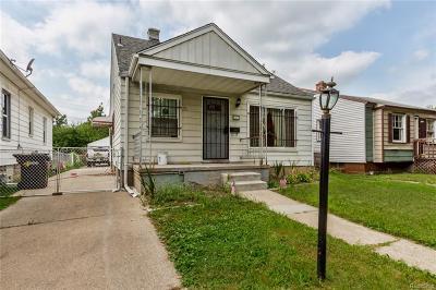 Detroit Single Family Home For Sale: 6873 Plainview Avenue