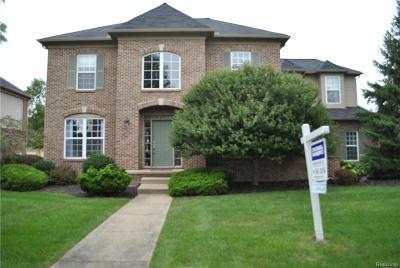 Canton, Canton Twp Single Family Home For Sale: 49566 Courtyard Lane
