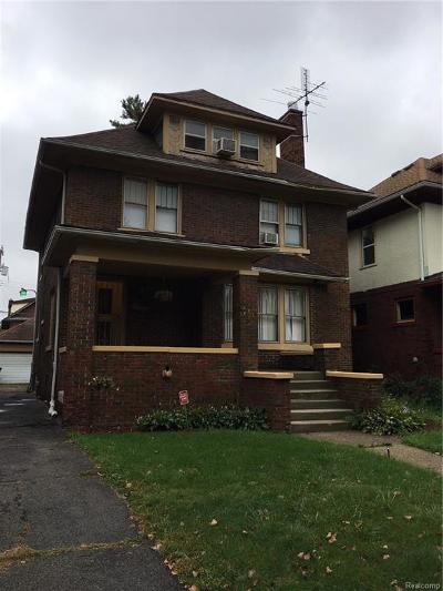 Detroit Single Family Home For Sale: 1667 Edison Street