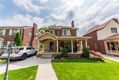 Dearborn Single Family Home For Sale: 6830 Oakman Blvd
