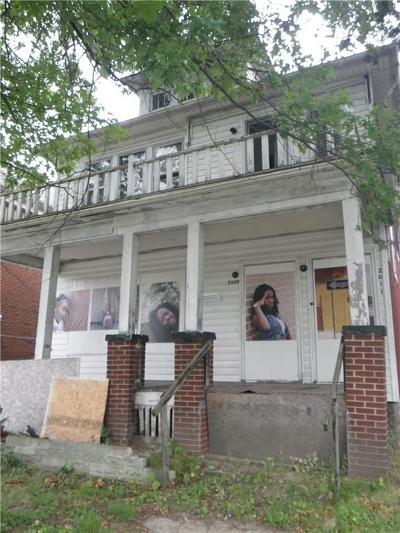 Detroit Multi Family Home For Sale: 2009 Clements Street