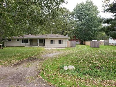Canton, Canton Twp Single Family Home For Sale: 4655 Denton Road
