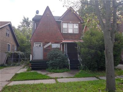 Detroit Single Family Home For Sale: 10335 Crocuslawn Street