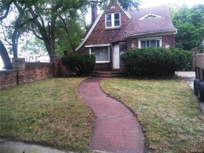 Detroit Single Family Home For Sale: 2627 Oakman Court