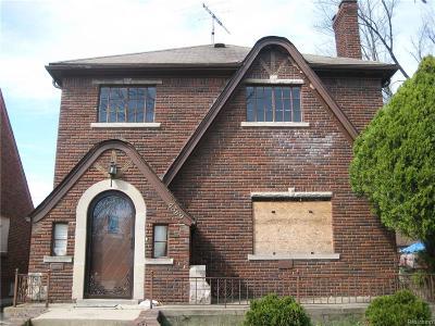 Detroit Single Family Home For Sale: 4369 Devonshire Road