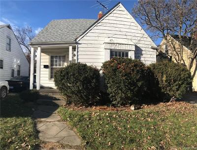 Detroit Single Family Home For Sale: 8113 Terry Street