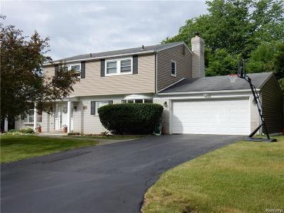 Farmington Hills Single Family Home For Sale: 26301 Kiltarton Street