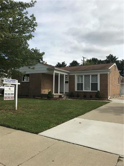 Dearborn Heights Single Family Home For Sale: 5842 Charlesworth