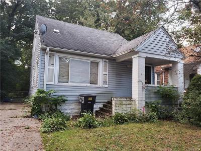 Detroit Single Family Home For Sale: 17275 Braile Street