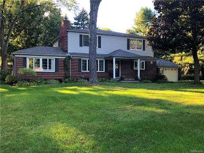 Northville MI Single Family Home For Sale: $459,000