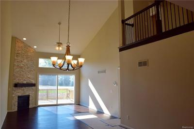 Chesterfield Twp Condo/Townhouse For Sale: 33888 Michigamme