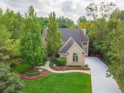 West Bloomfield Twp Single Family Home For Sale: 7511 Autumn Hill Drive Drive