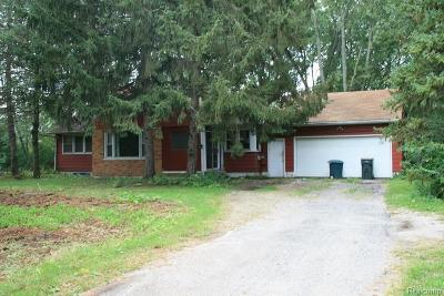 Canton, Canton Twp Single Family Home For Sale: 7015 N Beck Road
