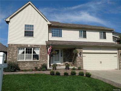 Chesterfield Twp Single Family Home For Sale: 32071 Oakcrest Drive