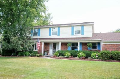 Farmington Hills Single Family Home For Sale: 29634 Mullane Drive