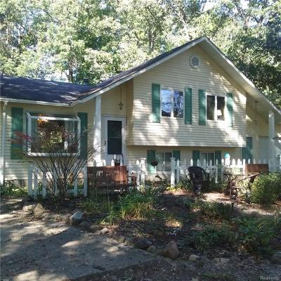 Single Family Home For Sale: 5172 N Shore Drive